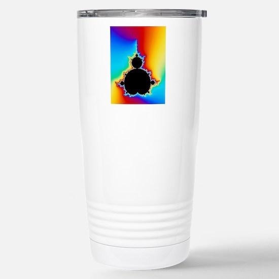 Mandelbrot fractal Stainless Steel Travel Mug