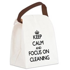 Funny Clear Canvas Lunch Bag