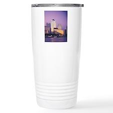 Canary Wharf skyscraper Travel Mug
