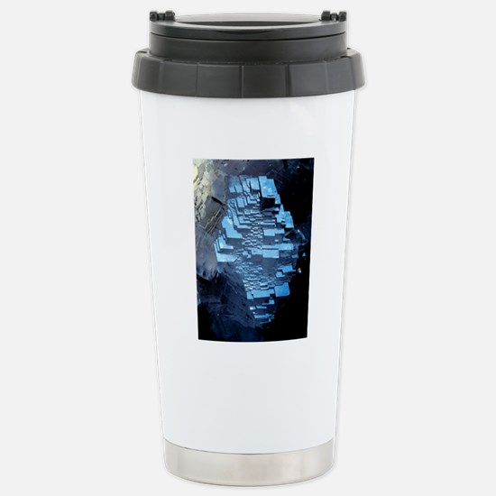 Calcite crystals Stainless Steel Travel Mug