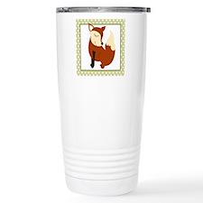 Woodland Fox with Borde Travel Coffee Mug