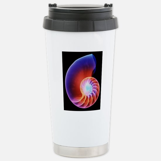 Coloured X-ray of the N Stainless Steel Travel Mug