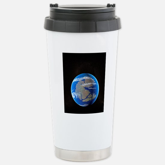 Earth at time of Pangea Stainless Steel Travel Mug