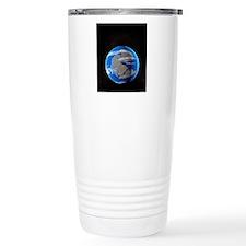 Earth at time of Pangea Travel Mug