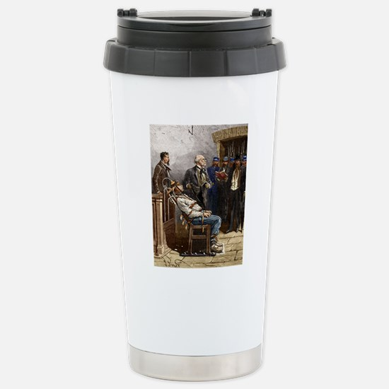 Electric chair, 1890 Stainless Steel Travel Mug
