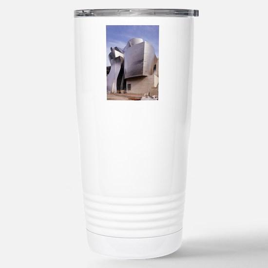 Guggenheim museum, Bilb Stainless Steel Travel Mug