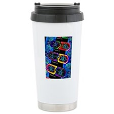 DNA molecule Travel Coffee Mug