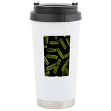 Bacteria, conceptual ar Travel Coffee Mug
