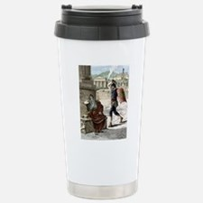 Death of Archimedes in  Stainless Steel Travel Mug