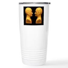 Phrenology busts Travel Coffee Mug