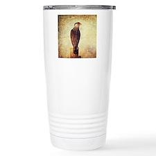 Crested Caracara Travel Mug