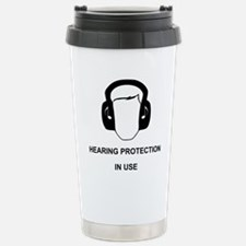 Hearing Protection with Stainless Steel Travel Mug