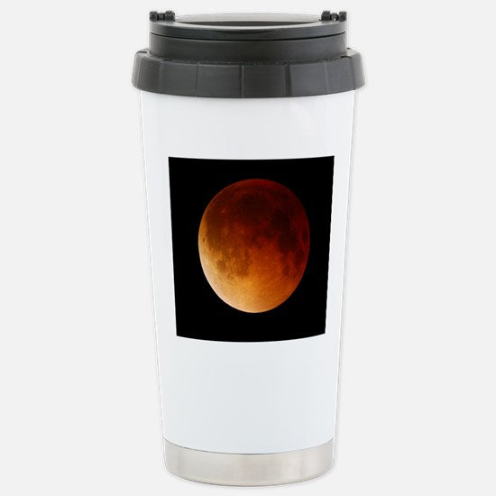 Lunar eclipse, 28/08/20 Stainless Steel Travel Mug