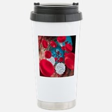 Red and white blood cel Travel Mug