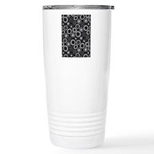 DotPattern_Black_Large Travel Mug