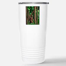 Bigfoot walking Travel Mug