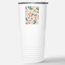 FlowerBotanical_Cream_L Travel Mug