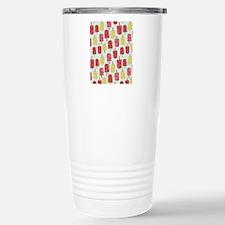 FruitIcecream_Blue_Larg Stainless Steel Travel Mug