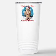 Wishing You A Merry Chr Thermos Mug