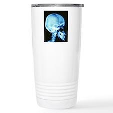 Skull X-ray Travel Coffee Mug