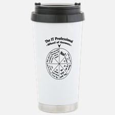 IT Professional Wheel o Stainless Steel Travel Mug