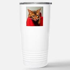 Lovesick Somali cat Travel Mug