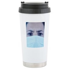 Surgical mask Travel Mug