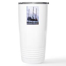 Jack-up Barge Taking On Travel Coffee Mug
