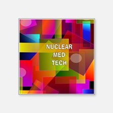 Nuclear Med Tech Sticker