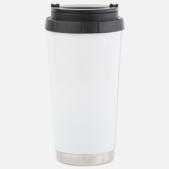 That is SO fetch WHITE Stainless Steel Travel Mug