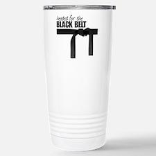 Black Belt Stainless Steel Travel Mug
