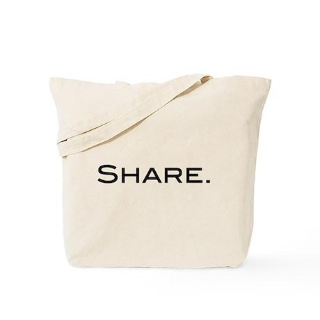 Share. Tote Bag