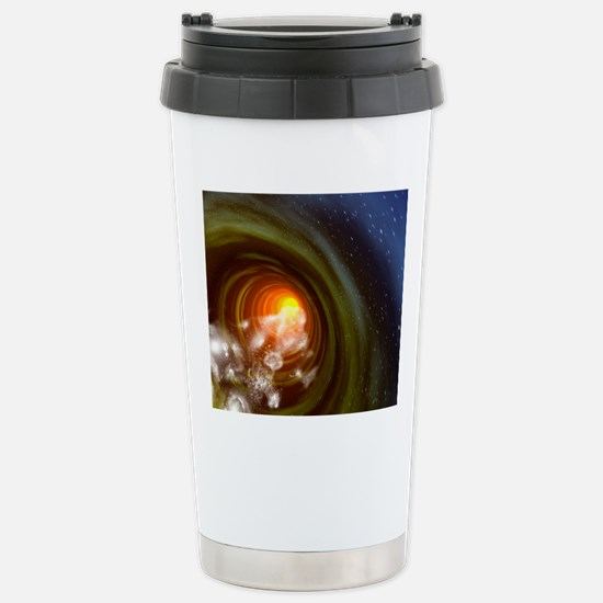 Wormhole event, compute Stainless Steel Travel Mug