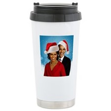 Obama Christmas Travel Mug