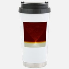 Abstract computer artwo Stainless Steel Travel Mug