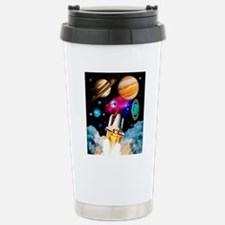 Art of space shuttle ex Stainless Steel Travel Mug