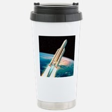 Ariane 5 rocket Travel Mug