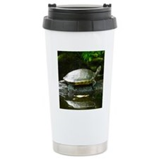 Tree Hugging Turtle Travel Mug