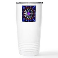 rainbow weave Travel Coffee Mug