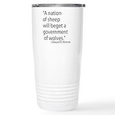 Nation of Sheep Travel Coffee Mug