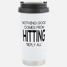 Reply All Stainless Steel Travel Mug