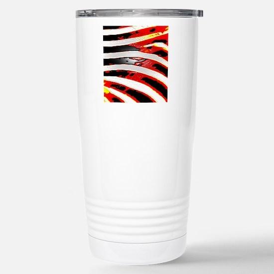 Artsy Fashion Zebra pri Stainless Steel Travel Mug