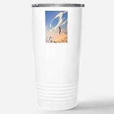 Astronaut exploring a p Travel Mug