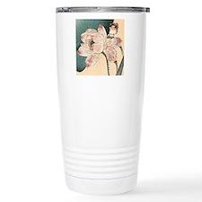 Botanical Lotus Flower Travel Mug