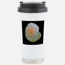 Coloured SEM of foramin Stainless Steel Travel Mug