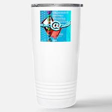 Conceptual computer art Stainless Steel Travel Mug