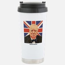 WINSTON CHURCHILL Stainless Steel Travel Mug