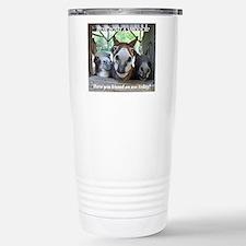 KISS THIS Stainless Steel Travel Mug