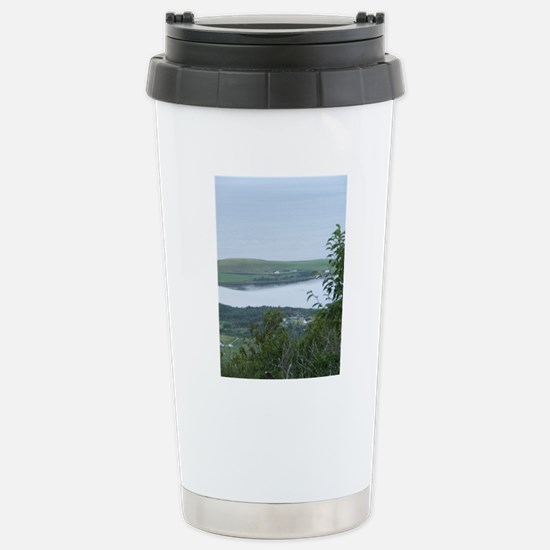 View of Bay St Lawrence Stainless Steel Travel Mug
