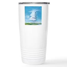 Cumulonimbus hail storm Travel Coffee Mug